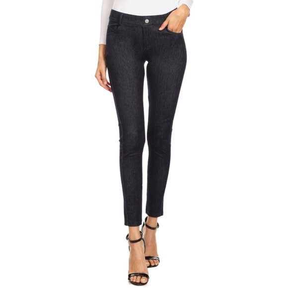 Faded Out 5-Pocket Skinny Jeans - Navy